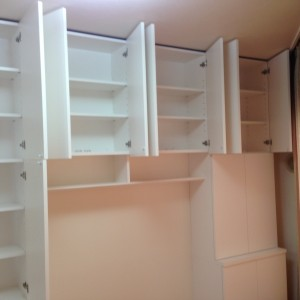 子供室 机、本棚製作 リビング家具製作